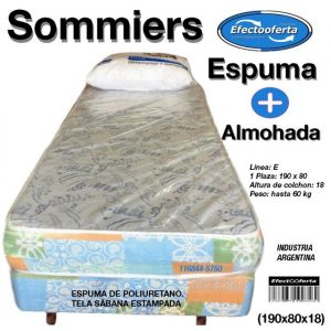 Sommiers 80 cm