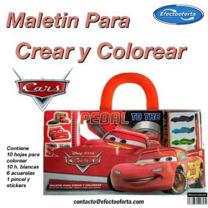 Set Maletin Cars efectooferta